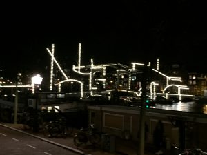 Amsterdam Light Festival 2019-2020 enlighted Skinny Bridge