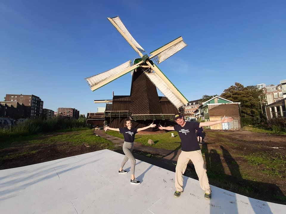 """Volunteer during Heritage Day Amsterdam 