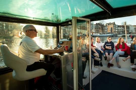 Private Stadtführung Amsterdam Boot | Lex and the City tours