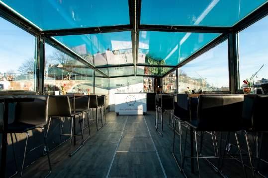 Privatboot zu mieten mit uns als Guide and host waruf sie selbst mittagessen könnten - Lex and the City Amsterdam tours