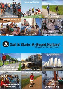 Skateles bij Skate-A-Round uit Amsterdam - Vroeger met skaten en zeilen trips