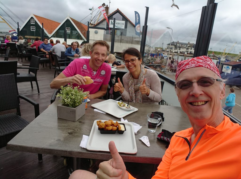 Enjoying fish, view, history and company on Texel island, oudeschild - Group adventure with Lex and the City trips