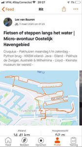 Micro-avontuuren in Amsterdam Oost - Fietsen Oostelijk Havengbied langs het water 14 km - met Lex and the City