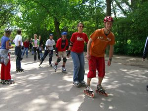 Inline Skate fitness in Amsterdam - Instructor