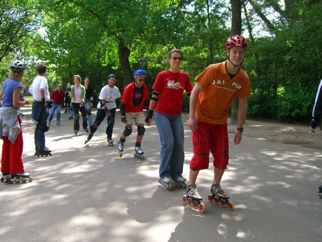 Inline Skate fitness in Amsterdam - Instructor