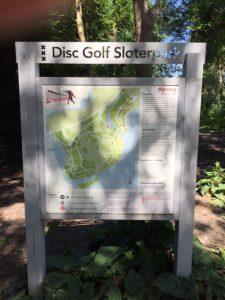 Disc golf Sloterplas; plek om af te spreken voor privé skateles Amsterdam Nieuw-West.