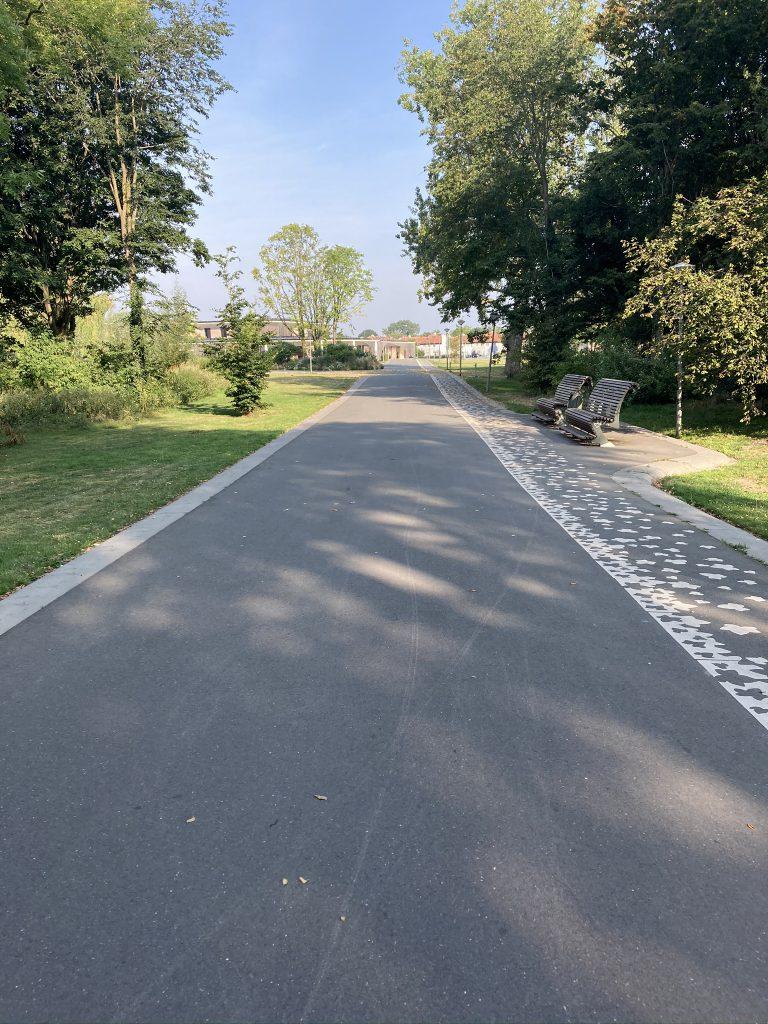 Het Noorderpark is een heerlijke en vrij onbekende plek om goed te inline skaten in Amsterdam