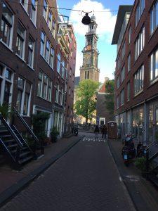 Privé-tour Jordaan met lokale gids - Uitzicht op Westerkerk - Lex and the City rondleiding