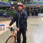 Stepguide Lex van Buuren van Lex and the City in het Blauwe Theehuis in het Vondelpark