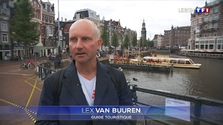 Lex van Buuren de Lex and the City sur TF1 le 20 Aout 2020, 20H - Guide francophone a Amsterdam raconte sur le tourisme local.