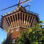 De Molen van Oost - Foto van de enige echte stadsmolen van Amsterdam, die in het centrum staat. Foto van Lex and the City, promotor van dat andere Amsterdam