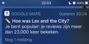 Kijkend naar de belangstelling voor de reviews van Lex van Buuren is hij een influencer.